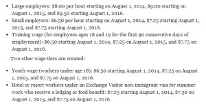 Thanks to MinnPost for this in-depth breakdown of the Minimum Wage Bill's phases.